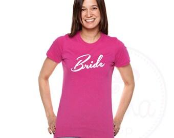 Bride T Shirt. Bride Top. Bride to Be T-shirt. Hen Party. Hen Party T Shirts. Hen Party Top. Gift for Bride. Hen Party Favours. Hen Do Tops.