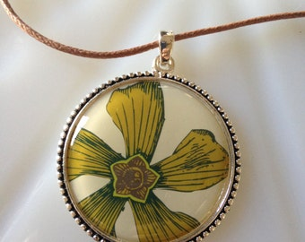 Funky Flower Necklace
