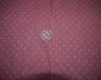 Tampella - 70s - Fabric - Table cloth - D & T  77 -  Symbolprick - Pink - White
