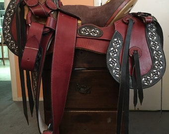 """15"""" Mexican Horse Saddle"""