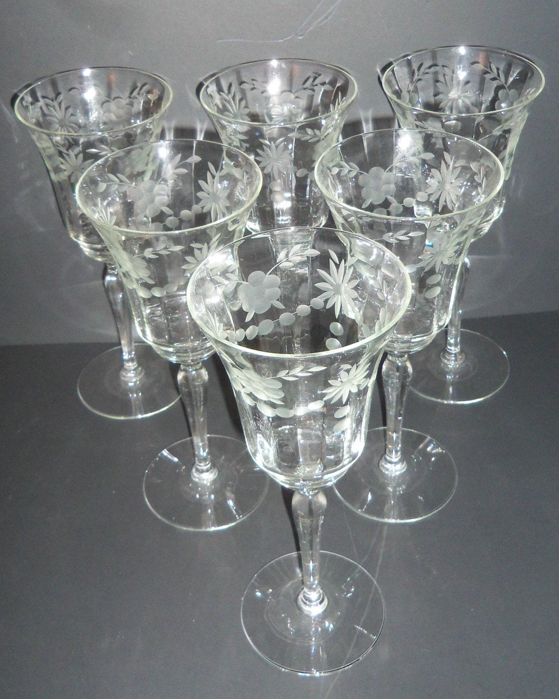 Wine Glasses Vintage 83