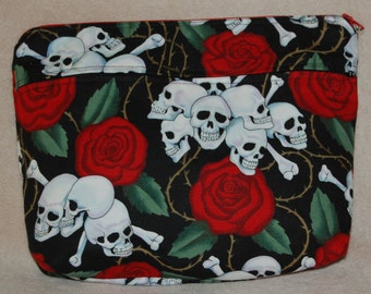 Skulls and Roses Toiletry Bag