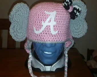 Alabama  Crochet Elephant Hat