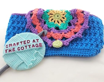 Fancy Colourful Crochet Phone Case