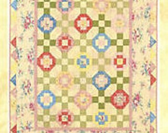 Sweet Posies quilt pattern, no. 125, Late Bloomer Quilts