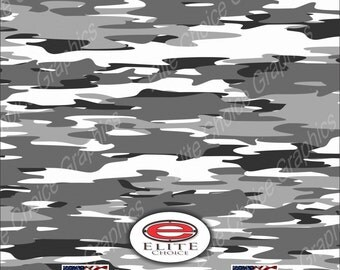 "Snow 15""x52"" or 24""x52"" Truck/Pattern Print Tree Real Camouflage Sticker Roll or Sheet"