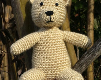Handmade Stuffed Teddy Bear Toy