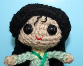 Mulan  Amigurumi Crochet Doll