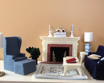 Doll Living Room Set