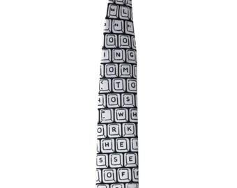 Men's Necktie - Keyboard tie - gift to him