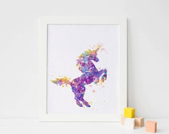 Unicorn Room Decor Etsy