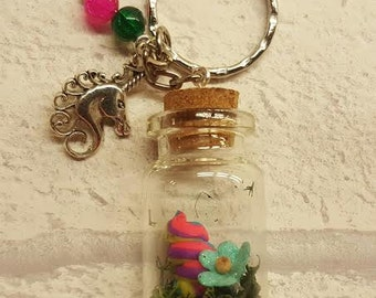 Unicorn Poo Keyring, Unicorn Poop Key Chain, Unicorn Poo Gift