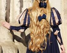 Renaissance  Dress Historical Costume 16 Century Italian Renaissance Handsewn