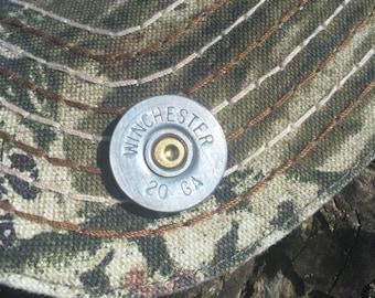 Shotgun Shell Hat Pin - Winchester 20 Gauge Shotgun Shell