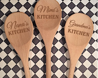 Grandma Spoon - Gift for Grandma - Spoon for Grandma - Personalized - Nana - Mimi - MawMaw - Gifts for Grandparents - Mother's Day Gift