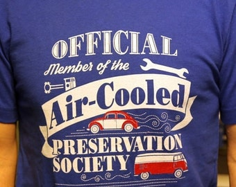 Official Air-Cooled Preservation Society T-Shirt