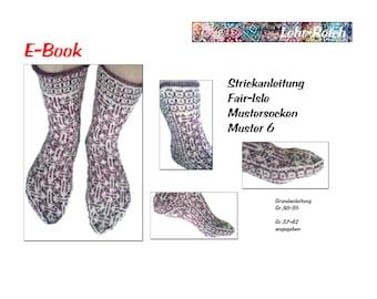 E-book knitting pattern pattern 6