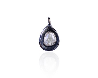 Charm - Diamond Polki Charm