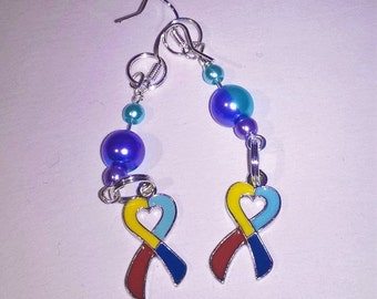 Handmade Earrings - Autism Charity Donation