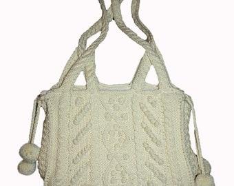 Cozy Winter Crocheted Bag
