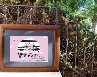 Remember You - Wall Art - Print