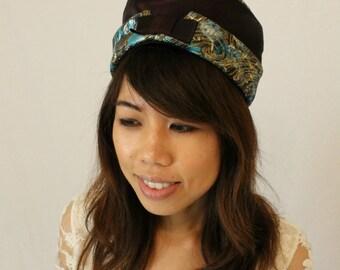 Exotic vintage turban
