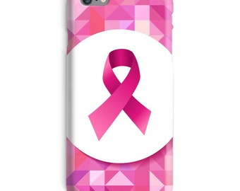 Breast Cancer Awareness iPhone Case, Pink iphone case, Survivor iphone 6 case, Cancer iphone 6 case, Support iphone 6s case, New iphone case