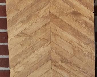 Wooden Chevron