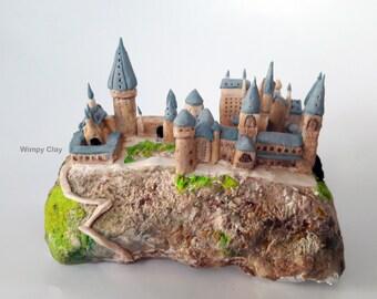 Miniature Hogwarts Castle Harry Potter Inspired