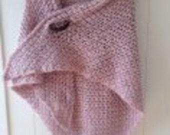 Shawl rose (incl. learn scarf PIN)