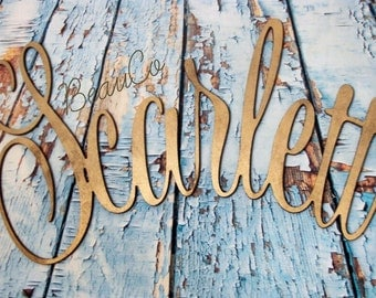 Wooden Name FREE SHIPPING!!