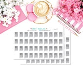 Printed Sticker Sheet - Bible Study Reminder Stickers - Style 067