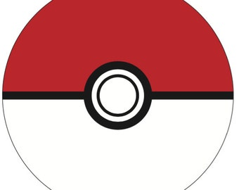 Pokemon Pokeball - INSTANT DOWNLOAD