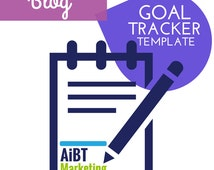Blog Goal Tracker Easy to Use Excel Template