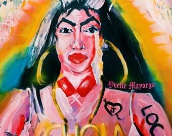 Chola Sticker