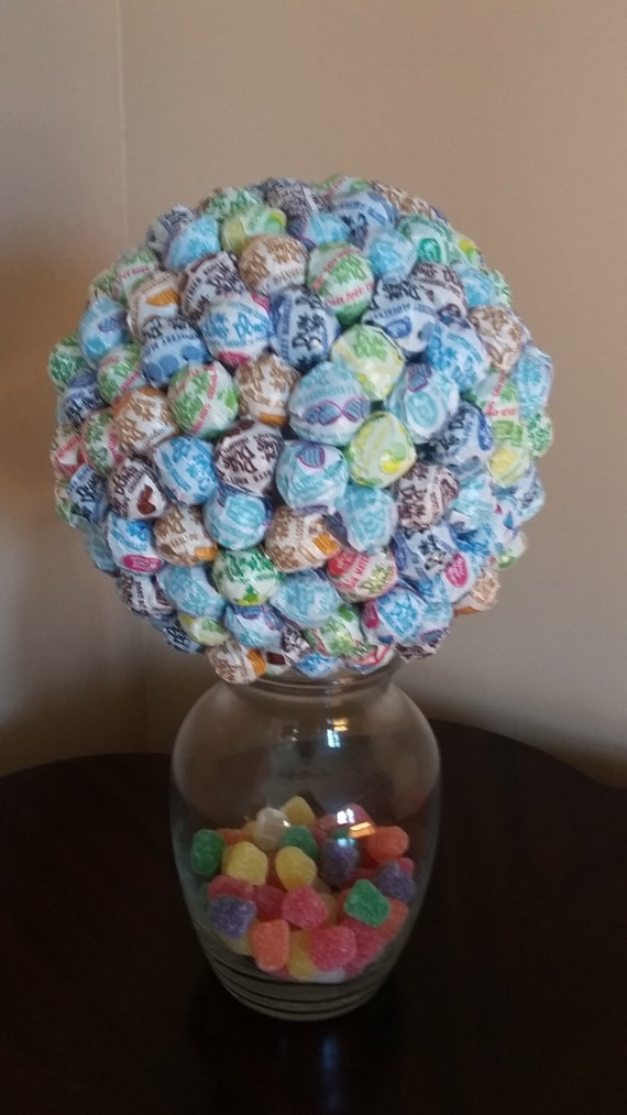 Blue candy centerpiece multi colored party by