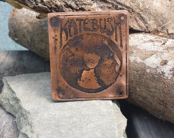 Kate Bush Metal Badge