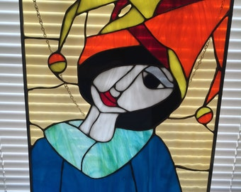The Jester - Stained Glass