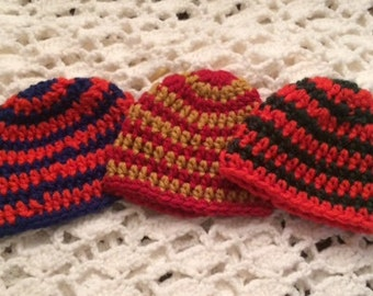Baby Beanie Hats in College and Professional Sports Team Colors
