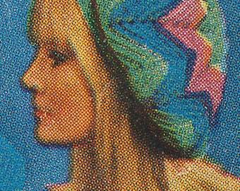 1960's Vintage Crochet Beret Pattern