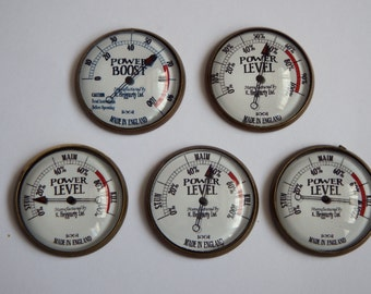 25mm Retro Steampunk Power Gauge Accessory