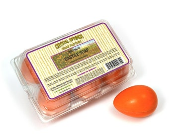Orange Bergamot Bar Soap, Castile Bar Soap, Organic Body Soap, Natural Soap, Vegan Soap, Soap Gift Set, Natural Body Care Gift Set Pack