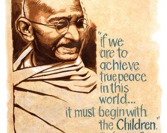Gandhi- Man of Peace- Words of Peace.