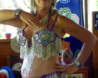 Egyptian Cabaret Belly Dance Costume