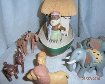 Noah's Ark Ceramic Set