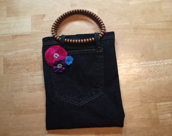 Upcycled Jeans purse