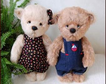 Candy. Artist teddy bear