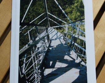 Photo Greeting Card | Handmade Card | Blank Card | Photo Note Card | Photography Card | Blank Photo Card | Fire Tower | Lookout Tower