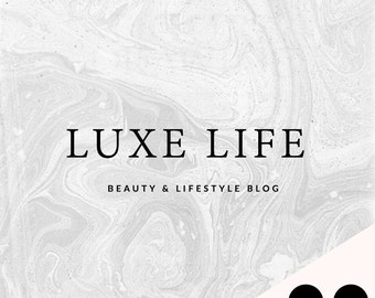 Pre-Made Logo   Blog Header   Luxe Life   Small Business   Blogger