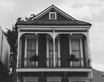 Shotgun house in New Orleans
